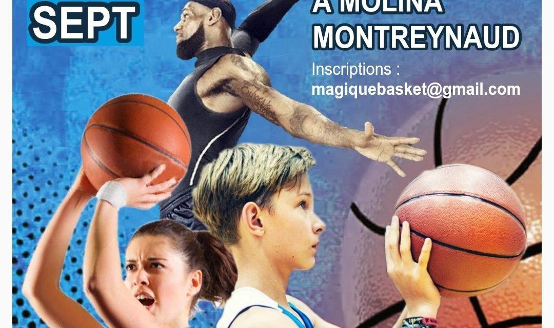 Un tournoi 3×3 organisé à Montreynaud