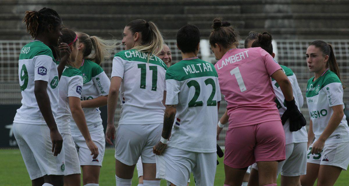 Audrey Chaumette fait gagner l'AS Saint-Etienne contre Grenoble
