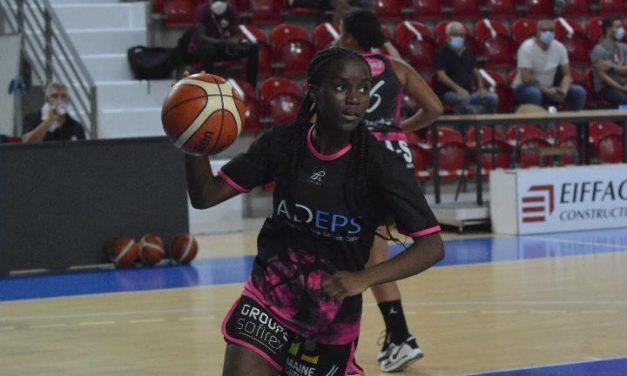 Dorcas Nganfina (RBF), 15 ans et 16 points en NF1 contre Lyon