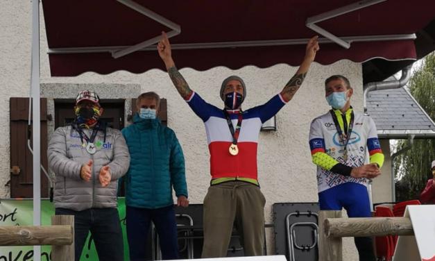 Handbike : Suprématie nationale pour Loïc Vergnaud