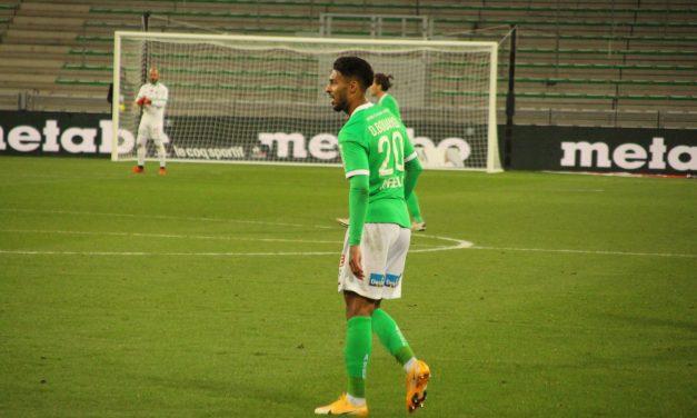 Les Verts doivent rebondir avant d'affronter l'Olympique Lyonnais