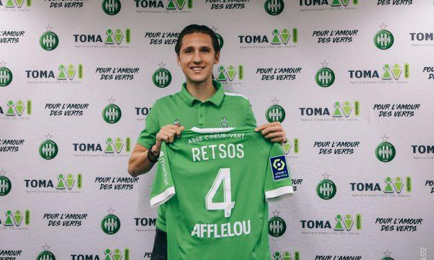 Panagiotis Retsos signe chez les Verts
